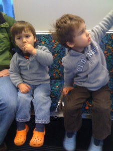 E and F on the Metro